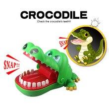 Приколы розыгрыши игрушки крокодил стоматолога родитель-ребенок смешная игра семья интерактивные игрушки подарки для мальчика Девочки Дети