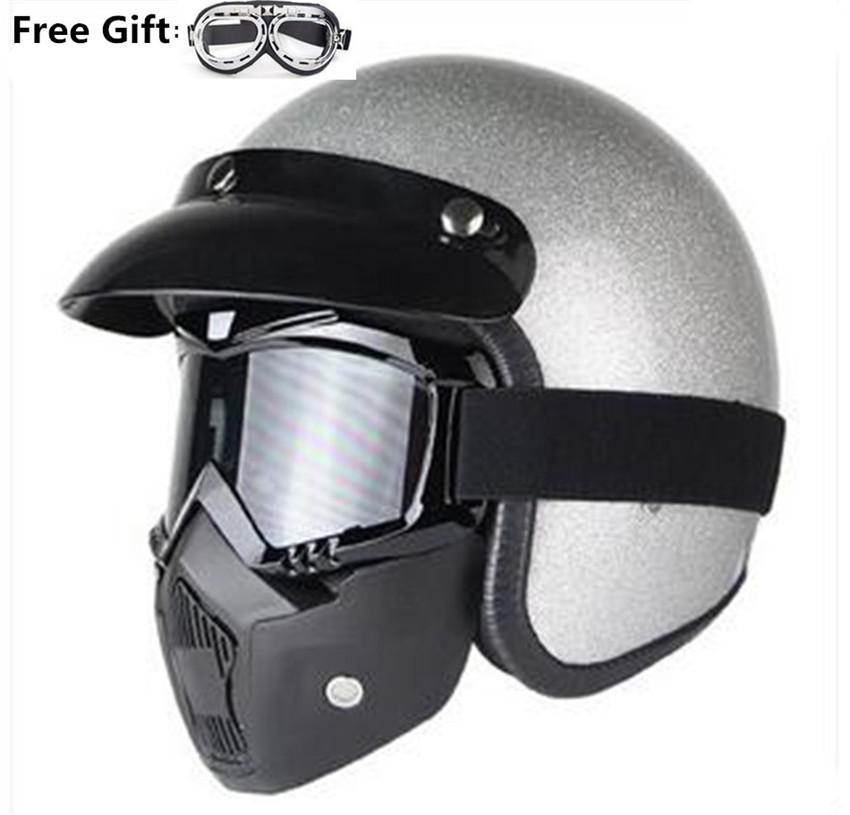 free gift motorcycle vespa helmet vintage open face 3 4 helmet motocross jet retro capacete. Black Bedroom Furniture Sets. Home Design Ideas
