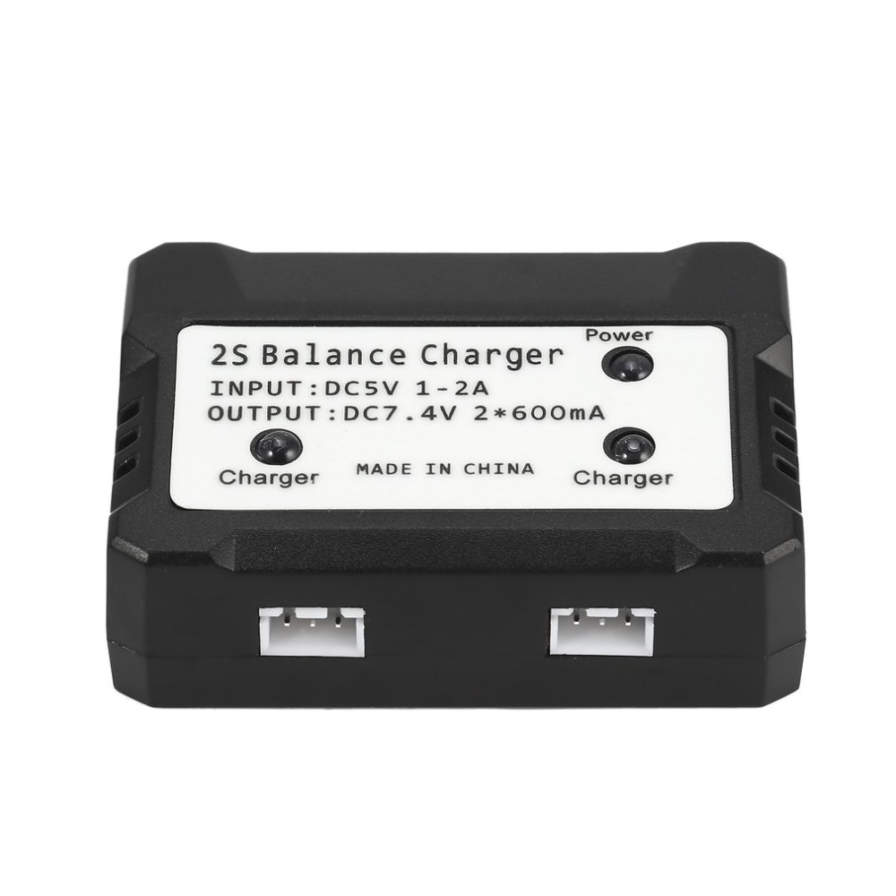 2 in 1 Balance Charger 7.4V 2700mAh 10C Li-po Battery for RC Drone Spare Parts for Hubsan H501S H501M H501A H501C RC Quadcopter 7 4v 2700mah 10c battery 1 in 3 cable usb charger set for hubsan h501s h501c x4 rc quadcopter
