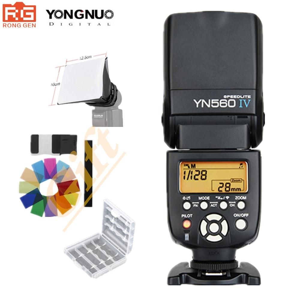 YONGNUO YN560 IV 2.4G Sans Fil Flash Speedlite A99 A58 A6000 A3000 A7 A7r A7s NEX-6N YN-560IV Pour Sony Canon Nikon