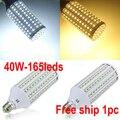 High brightness 40W LED bulb E27 B22 E40 LED Light LED Corn Light AC110/220V Warm White Cool White 1pc free shipping