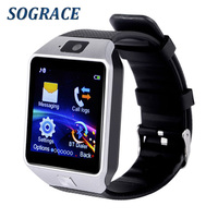 Sograce DZ09 Bluetooth Smart Watch For Android Xiaomi HTC Samsung IPhone IOS Camera SIM Slot Sports