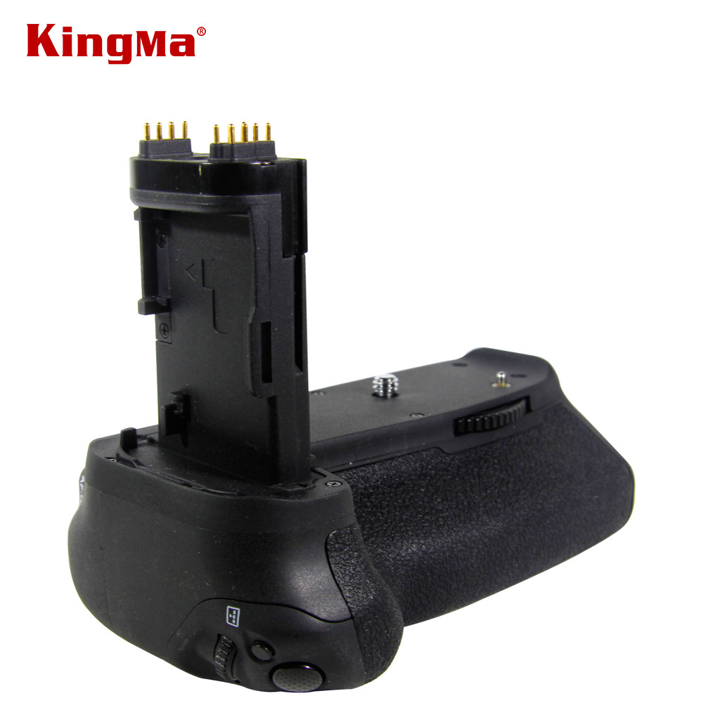 ФОТО Kingma BG-E14 Pro Multi-Power 2-step Vertical Shutter Battery Grip Holder for Canon EOS 70D DSLR Digital SLR Camera