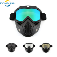 Men/Women Dust proof Cycling Bike Full Face Mask Windproof Winter Warmer Scarf Bicycle Snowboard Ski Masks with anti UV glasses