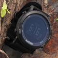 Fr851b smart watch barômetro sunroad bússola 5atm à prova d' água esportes homens relógio multifuncional