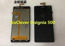 Новый смартфон сборки для GoClever Insignia 500 ЖК-дисплей Дисплей touch Панель планшета Экран датчик в комплекте с Инструменты Бесплатная доставка