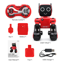 RC Robot With Piggy Bank Voice l Gesture Control Educational toys Singing dancing talking Rc robots Toys for children kids boys