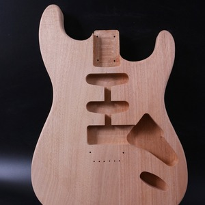 Unfinished Guitar Body Mahogan