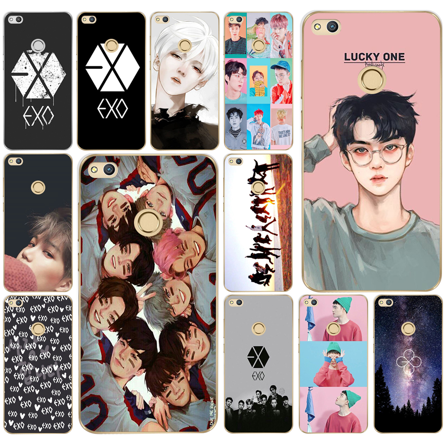 54 Exo Kpop Heart Drawing Love On The Finger Soft Silicone Tpu Cover Case For Honor 10 Huawei P Mate 1020 Lite Y5 Y6 Prime 2018 Phone Bags & Cases Cellphones & Telecommunications