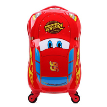 Red suitcase 18-inch wheels car pull rod box boy children cartoon suitcase to four rounds