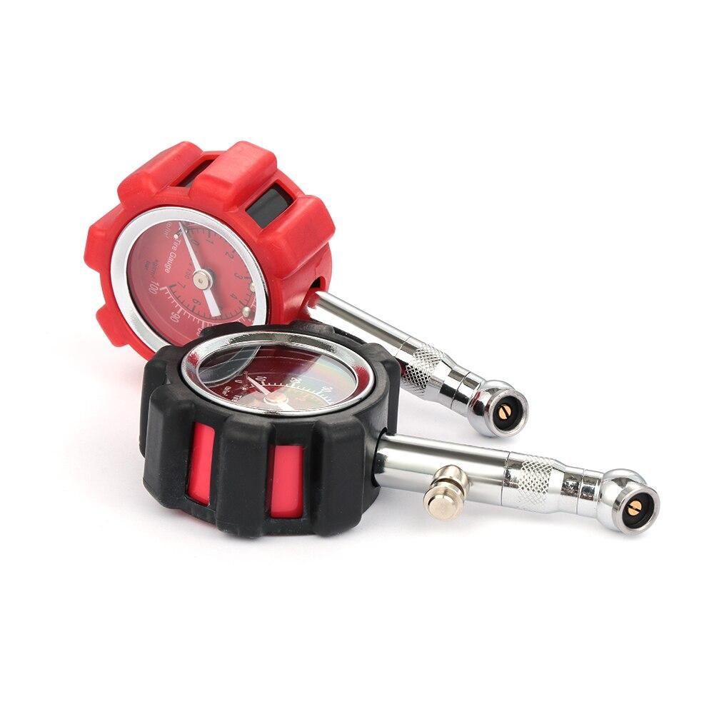 Digital Car Tire Pressure Gauge Manometer Tester PSI KPA BAR High Precision Pneumatic Meter For Car Truck Motorcycle Bike
