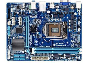 Oiginal motherboard GA H61M DS2 boards LGA 1155 DDR3 H61M DS2 16GB support I3 I5 I7