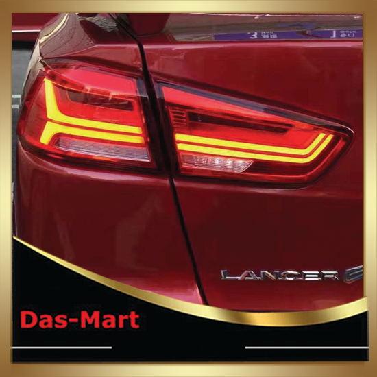Car Tail Light For 2008 2012 2015 Mitsubishi Lancer EX Rear Lamp With led Moving Light led rear light back light for mitsubishi lancer exceed led rear light smoke 2008 2013 yz