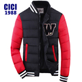 2016 mens winter warm down jacket Thick cotton embroidery men down parka coat printing  fashion  65