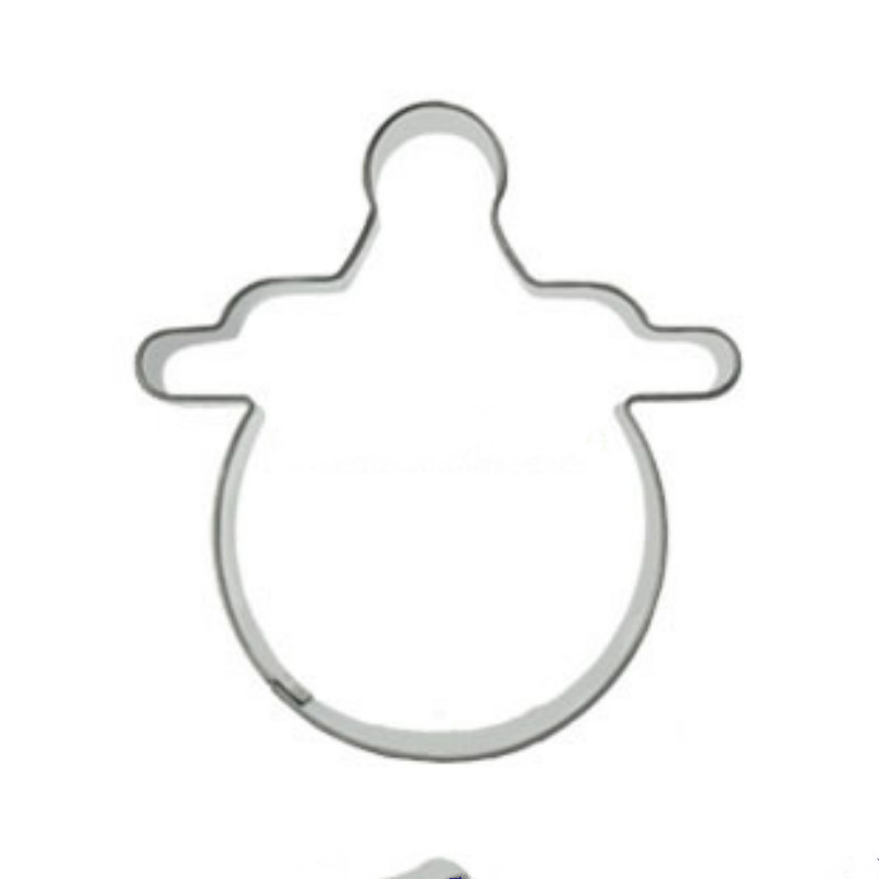 Baby Pacifier Melon Biscuit Cookie Cutter Tools Sugarcraft Stainless Steel
