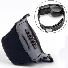 Heißer Verkauf Micro USB Ladestation Smartwatch Ladestation für Samsung Galaxy Getriebe Fit R350 Smart Uhr Schwarz