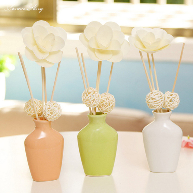 30ml Reed Diffuser Aromatherapy Air Freshener Car Perfume With