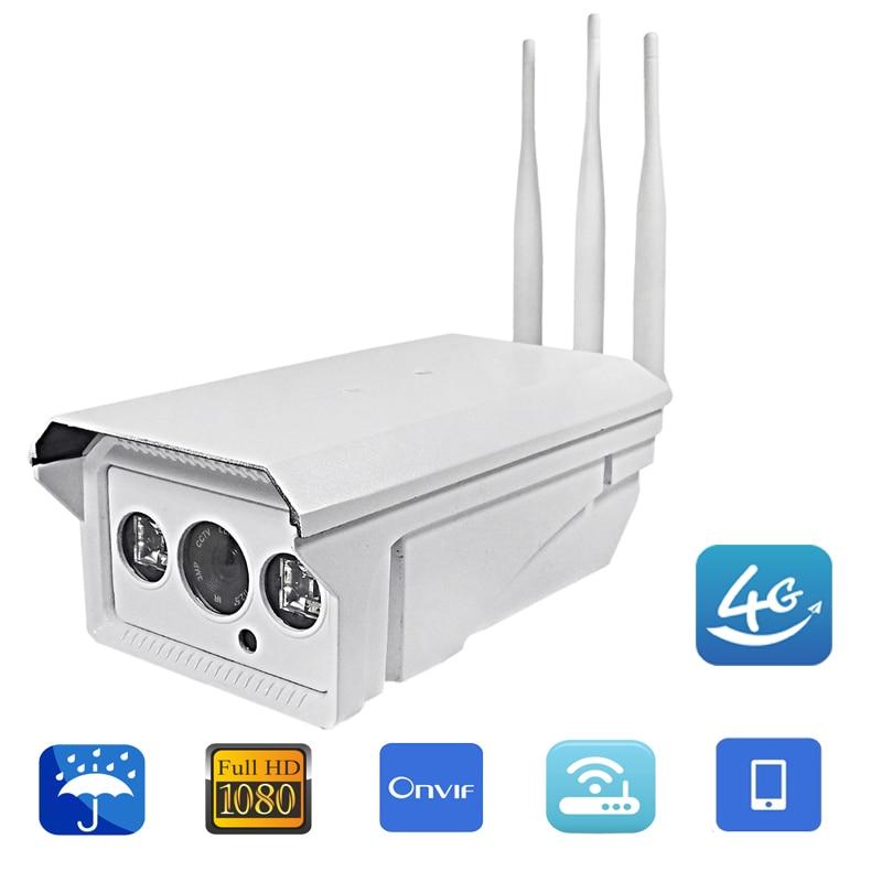 цена на Hi3516C 1080P HD Outdoor Video Surveillance Cameras Vigilancia Wireless 3G 4G SIM Card Wi-fi Outdoor 5X Zoom Bullet IP Camera