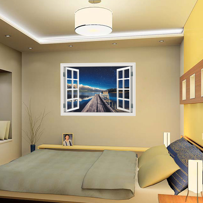 Enchanting Fake Window Wall Decor Composition - All About Wallart ...