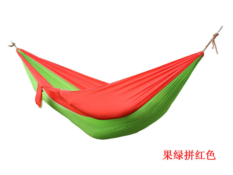 2 people Hammock 16 Camping Survival garden hunting swing Leisure travel Double Person Portable Parachute outdoor furniture 21