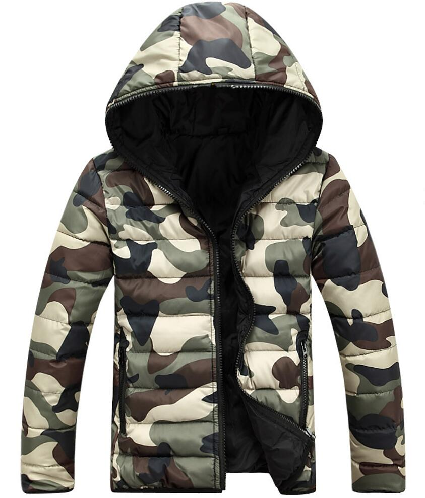 BERTHATINA Brand Cheapest Men Hoody Winter Jacket Camo Down Parka Teenager Slim Fit Warm Outwear Windproof Parkas