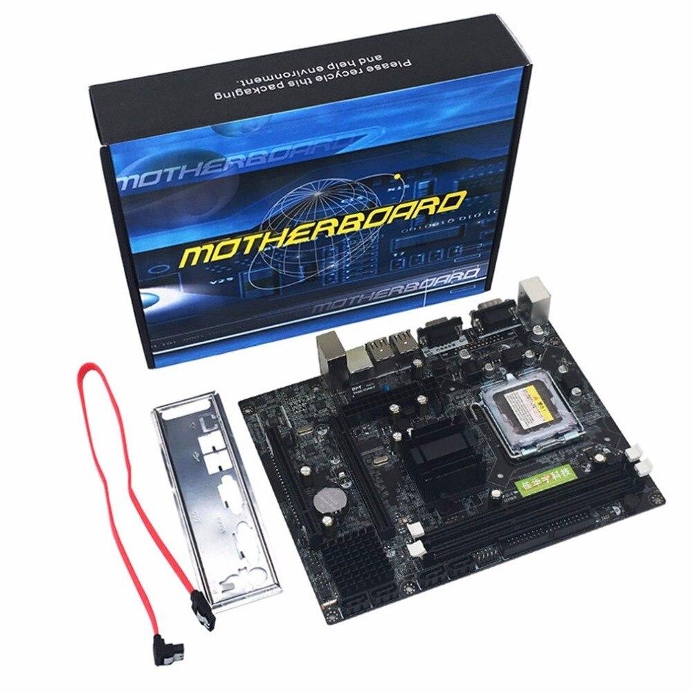 Профессиональный Материнская плата Gigabyte G41 настольного компьютера материнская плата DDR3 памяти LGA 775 Поддержка Dual Core 4 ядра Процессор