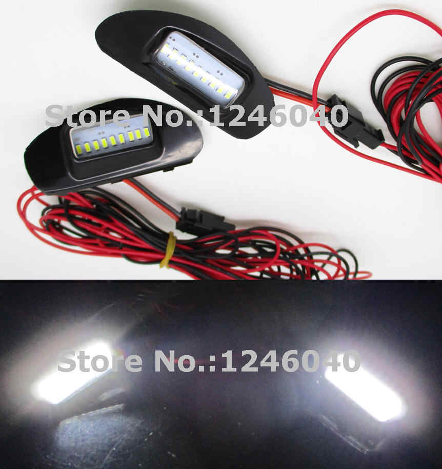2PCS LED Under Side Mirror Puddle Light Welcome light lamp for TOYOTA ALPHARD 50 Series Estima 50 Previa ACR50W 55W GSR50W 55W