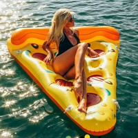Most popular 188 150cm inflatable pizza water sport float toy summer inflatable swimming ring swimming pool.jpg 200x200
