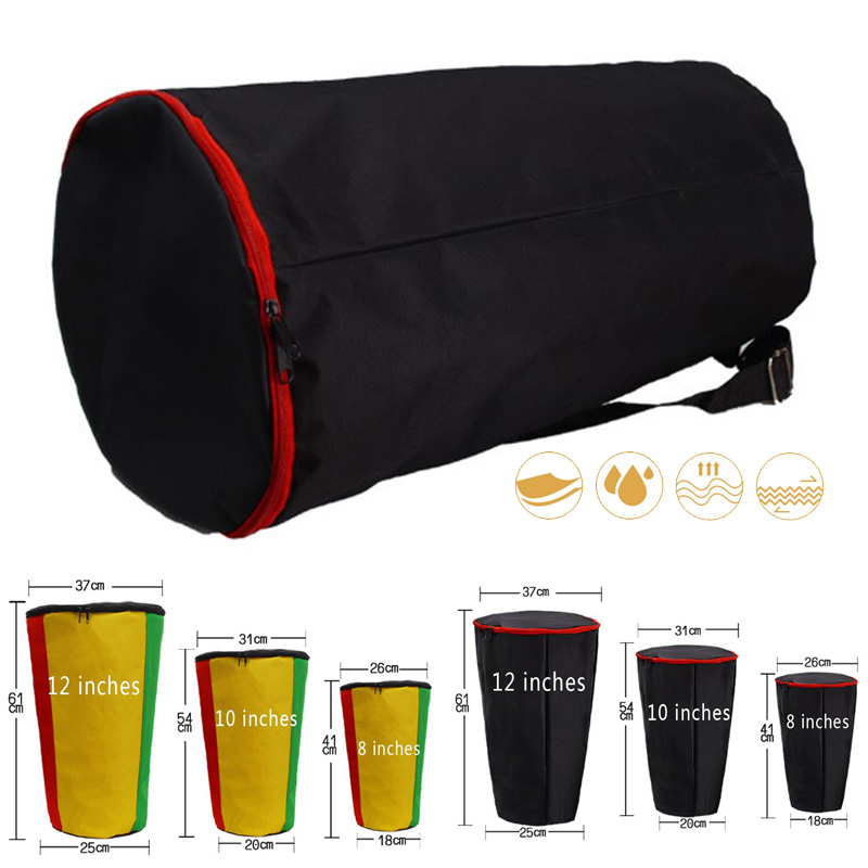 African Drum Bag Package Shoulders Percussion Instrument Djembe Bag Case Oxford Cloth Instrument Storage Bag