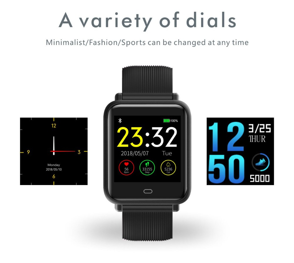 Android Smartwatch - 2019 IntelliBand™ Android Wear Smart Watch