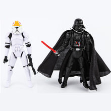1pc New 3.8 inches (10cm) Star Wars toys Darth Vader figures Revenge Of The Sith Auction toys PVC doll gifts for boy(China)