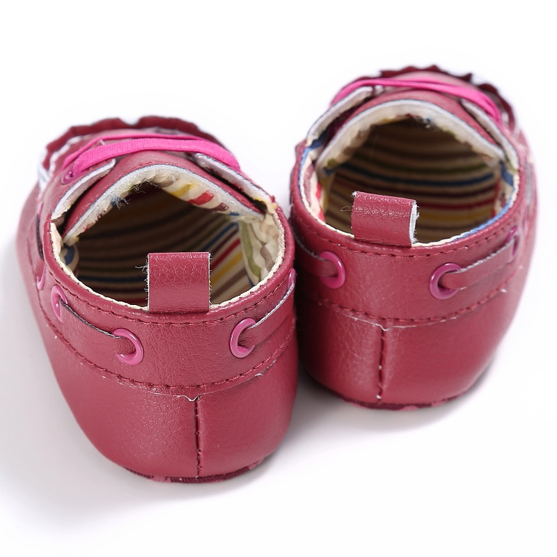 Cute Newborn Baby Boy Prewalker Shoes First Walkers Casual Soft Soled Crib Sneakers Shoes 18 Months