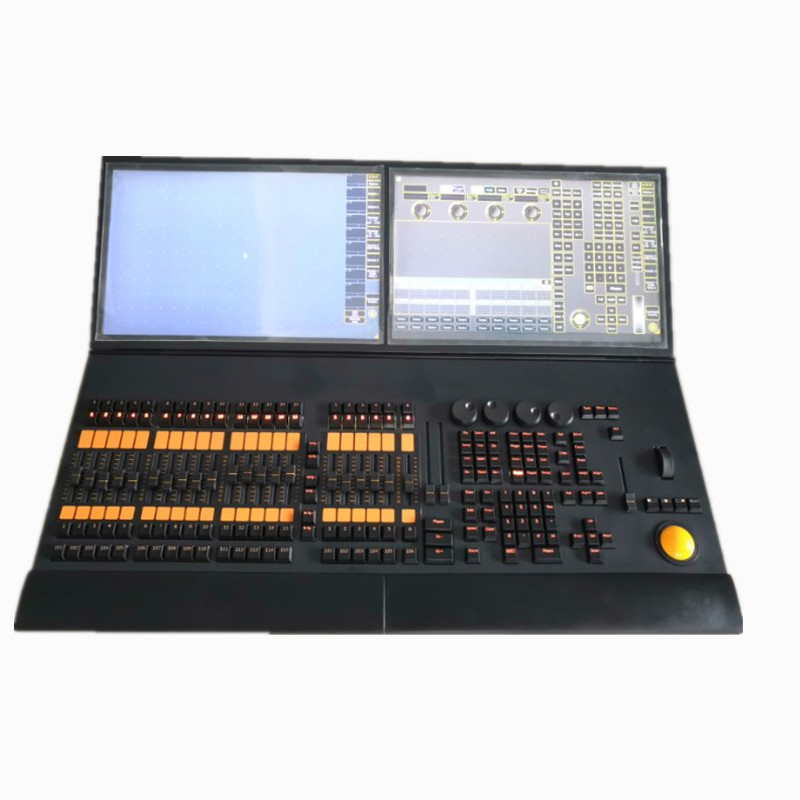 Hot sale MA stage light controller double touch screen display dmx dj lighting console grand ma2 moving light control flycase