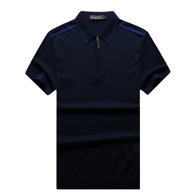 T shirt hommes 2017 lancement été mode confort souffle matériel couleur unie brodé lettre mâle vêtements livraison gratuite-in T-shirts from Vêtements homme    1