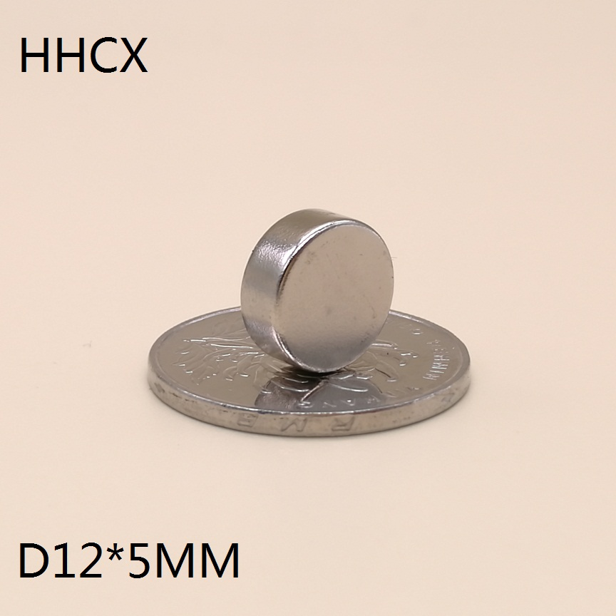 Lots 50pcs Small Disc Neodymium Magnets 12mm x 5mm Hole 4mm Rare Earth Neo N50