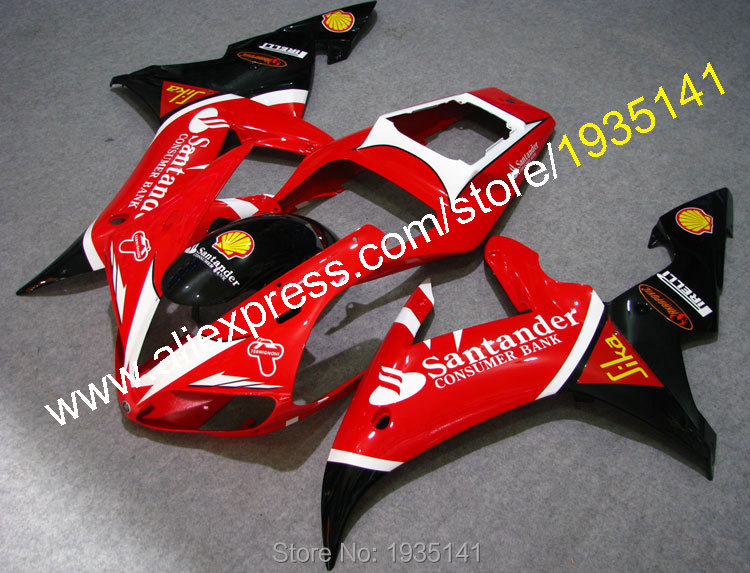 Compression Motorcycle cowling For <font><b>Yamaha</b></font> YZF <font><b>R1</b></font> 2002 <font><b>2003</b></font> YZF1000 02 03 YZF-<font><b>R1</b></font> bodywork <font><b>fairings</b></font> (Injection molding) image