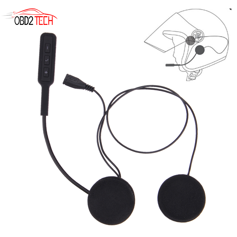 V4.1+EDR Motorcycle Helmet Headset Bluetooth Motorbike Handsfree Headset Headphone For MP3 Music GPS Car Styling