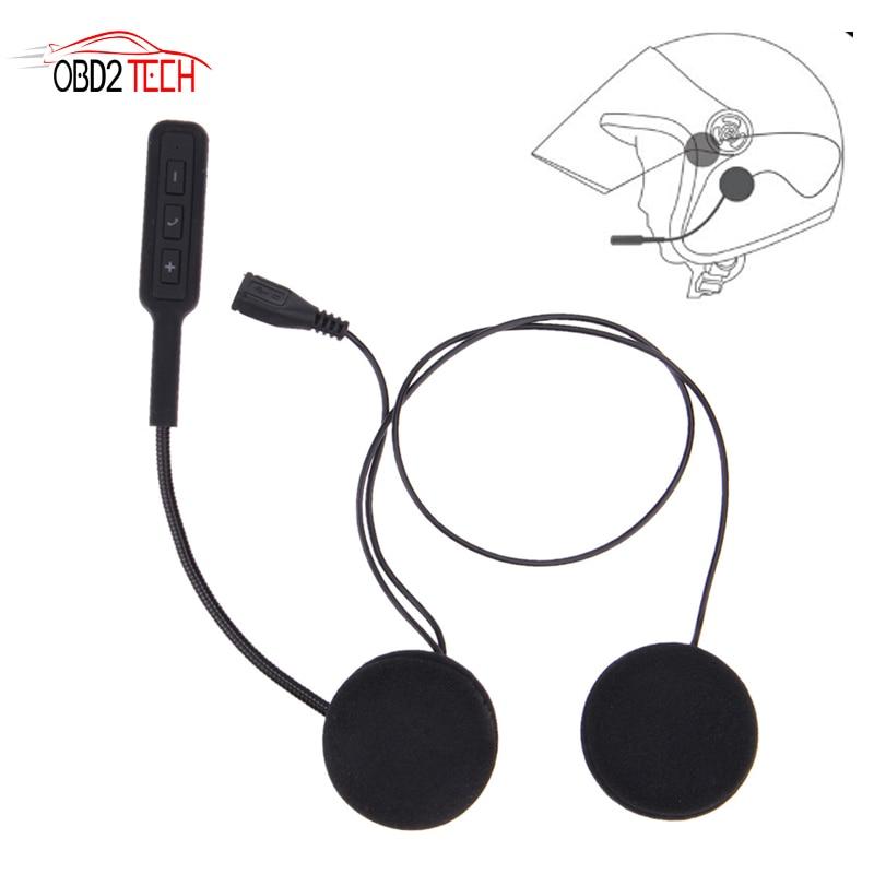 V4.1+EDR Motorcycle Helmet Headset Bluetooth Motorbike Handsfree Headset Headphone For MP3 Music GPS Car Styling