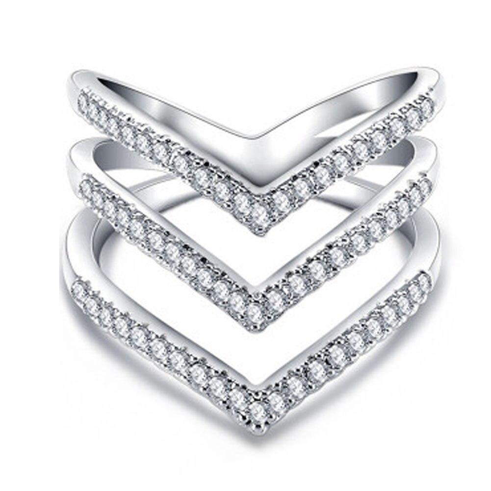 New Design Personality Luxury Micro Pave CZ Stone