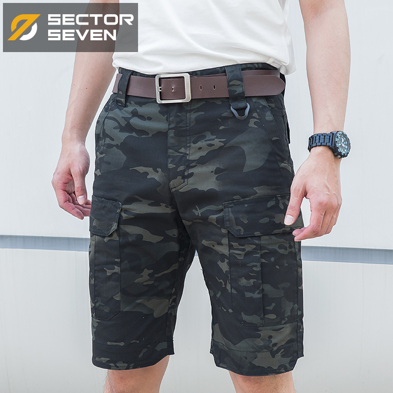 2018 Ny sommarman kamouflage Tactical Last Casual Shorts Manlig silm Work Shorts Man Army Military Short Pants