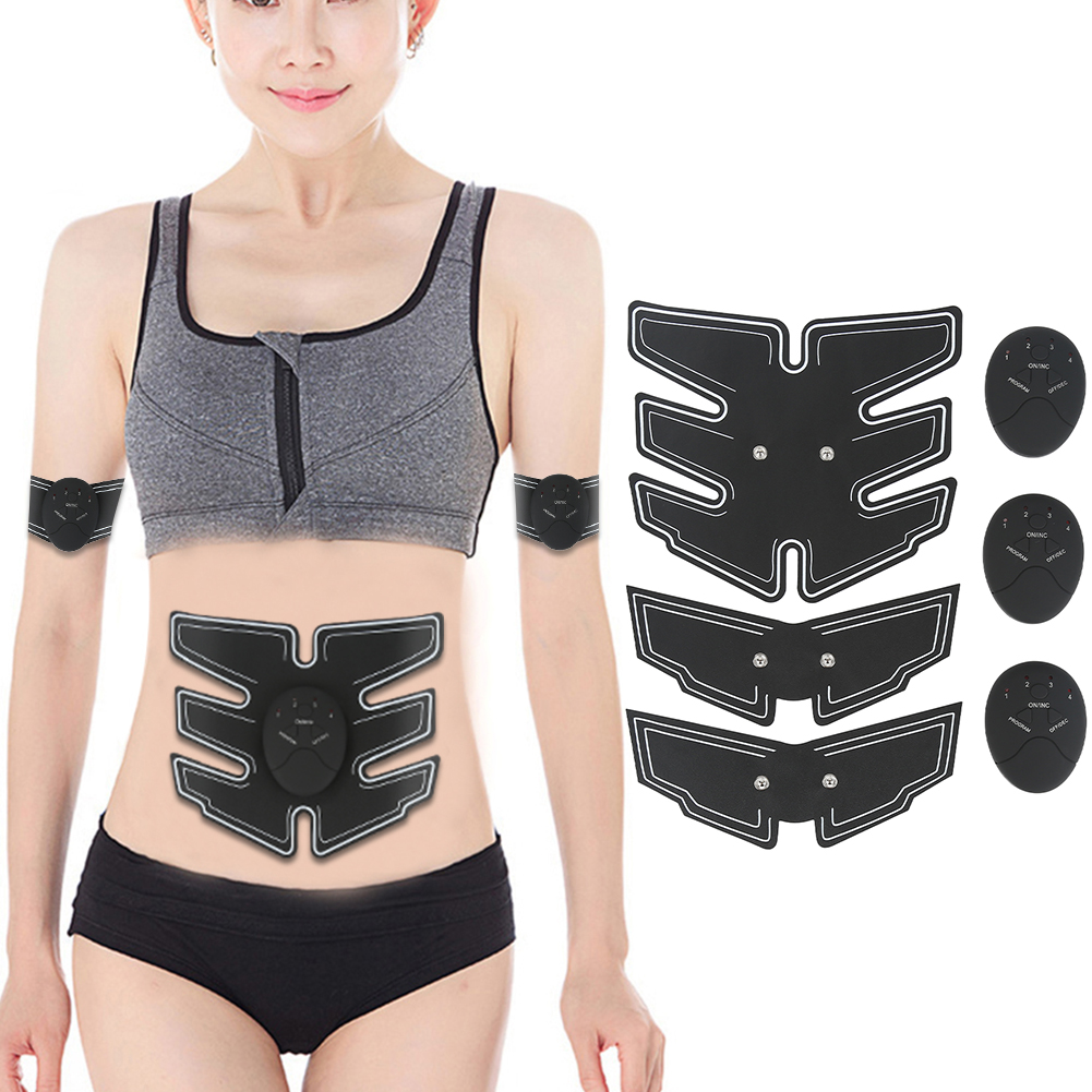 6 modes Intelligent Abdominal Muscle Massager Household Arm Abdominal Muscle Fitness Training Device