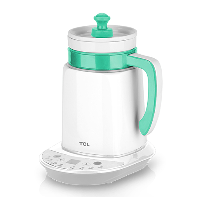 500ml Smart Health Preserving Pot Natural Ceramic Electric Kettle with Intelligent Temperature Control Overheat Protection 80W x32 3 5l automatic electric kettle ceramics boil herb pot porcelain health preserving pot easy to clean microcomputer control