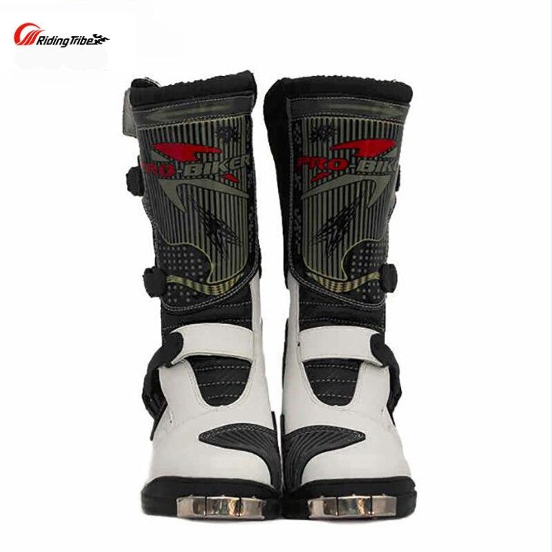 Мото обувь для верховой переключения передач функция сапоги мотоцикл гонки сапоги Защитное снаряжение гвардии Protector Крышка багажника