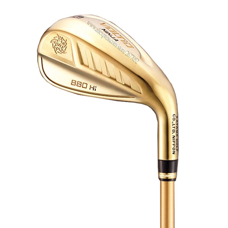 Cooyute New Golf Clubs KATANA VOLTIO NINJA 880Hi Golf Irons Set 6-9PAS Graphite Golf Shaft Clubs Irons Headcover Free Shipping