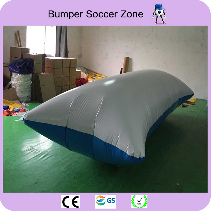 Free Shipping 6*2m 0.9mm PVC Water Jumping Pillow Inflatable Water Trampoline Inflatable Water Blob