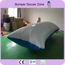 Free Shipping 6*2m 0.9mm PVC Water Jumping Pillow Inflatable Water Trampoline Inflatable Water Blob