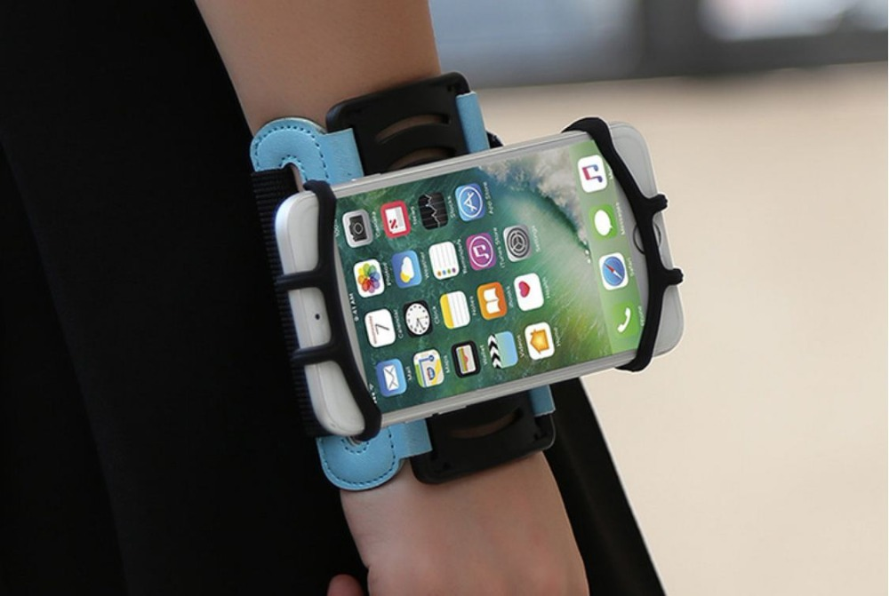 SzBlaZe Professional Rotatable Running Bag Wrist Band Arm cell phones Holder Sport pocket accessories For Gym Fitness Jogging 20