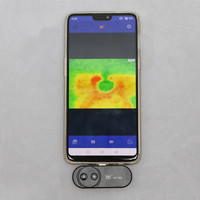 Hti HT 102 Mobile Phone Thermal Infrared Imager Support Video and Pictures Recording Face Detection Imaging Camera For Android