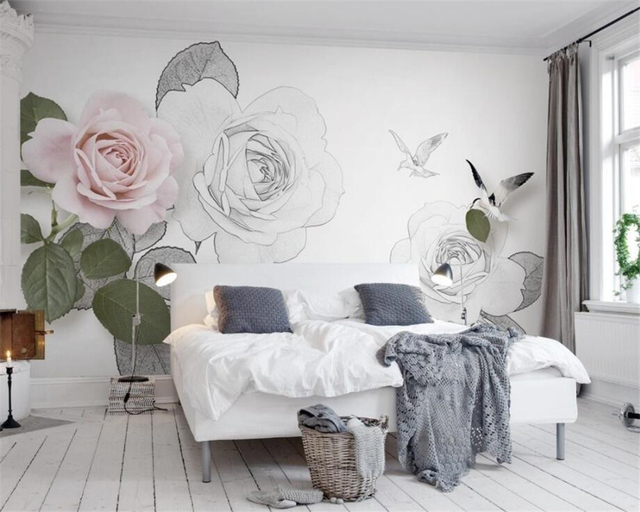 Beibehang 3d Wallpaper Modern Minimalistic Interior Design ...