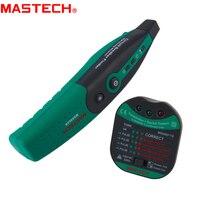 MASTECH MS5902 Disjuntor do Finder/Instrução Socket Tester/Totalmente automático Disjuntor do Finder Localizadores de disjuntor     -